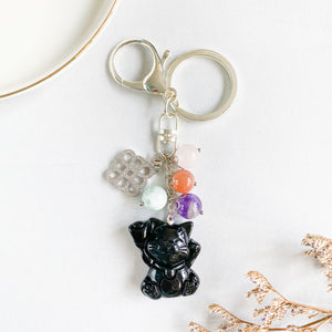 Fortune Cat Bag Charm