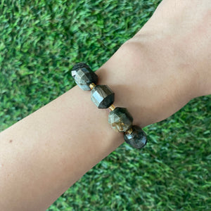 [SPECIAL PRICE] Hawk's Eye Geometric Bracelet