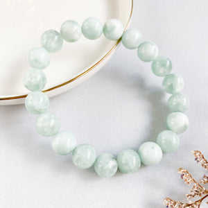 Green Angelite 10mm Bracelet