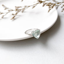 Load image into Gallery viewer, Prehnite Heart Ring