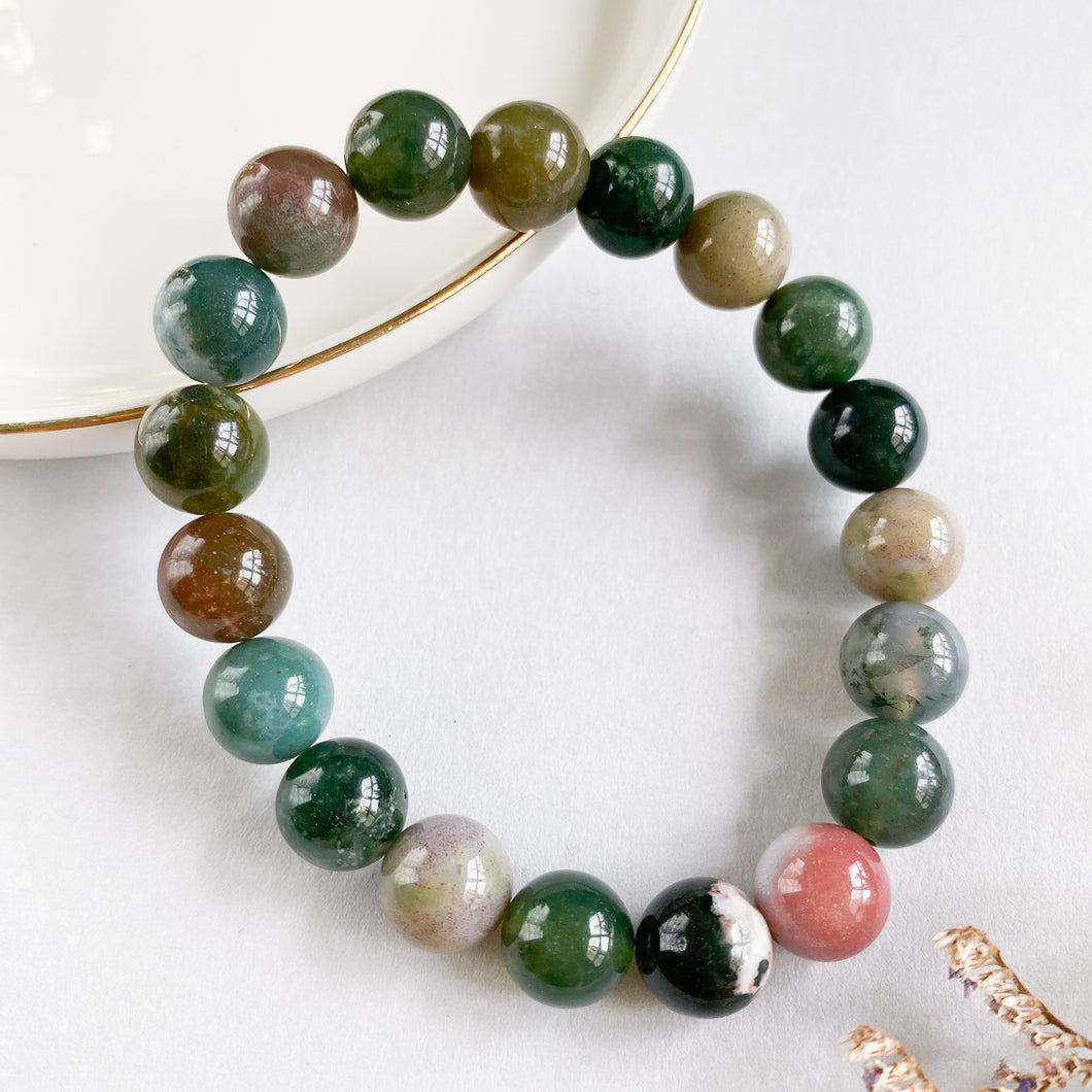 Bloodstone 10mm Bracelet