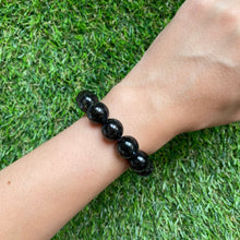 Load image into Gallery viewer, Nuummite 12.5mm Bracelet