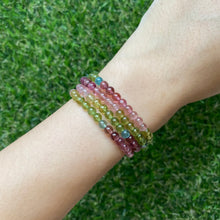 Load image into Gallery viewer, Rainbow Tourmaline Wrap Bracelet