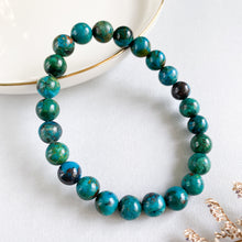 Load image into Gallery viewer, Chrysocolla 8mm Bracelet