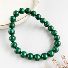 Load image into Gallery viewer, Malachite 8mm Bracelet