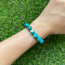 Load image into Gallery viewer, Chrysocolla 10mm Bracelet