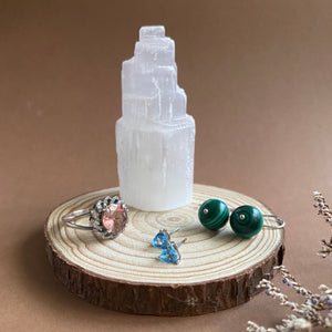 Mini Selenite Tower