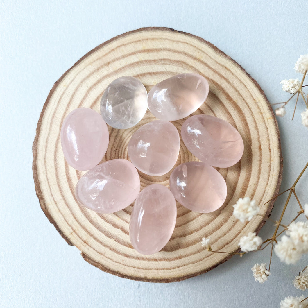 Mini Rose Quartz Tumble (2 pieces for $5)