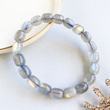 Load image into Gallery viewer, Labradorite Canister Bracelet