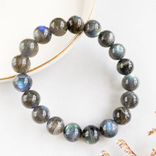 Load image into Gallery viewer, Labradorite 10mm Bracelet