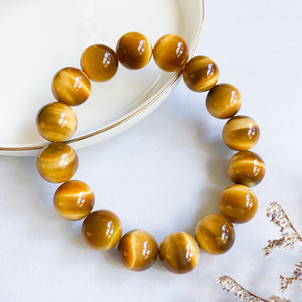 Gold Tiger's Eye 10mm Bracelet
