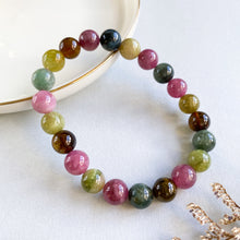 Load image into Gallery viewer, Multi-Colour Tourmaline Bracelet