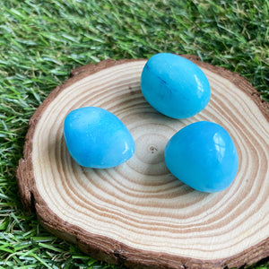 Blue Aragonite Tumble