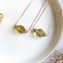 Load image into Gallery viewer, Lemon Citrine Geometric Necklace