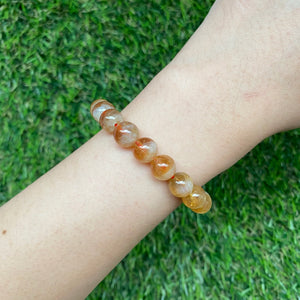 Wealth Bucket Citrine 8.5mm Bracelet