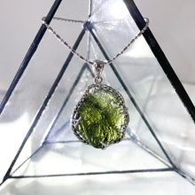 Load image into Gallery viewer, Raw Moldavite Pendant