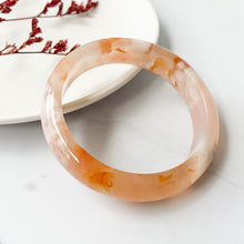 Load image into Gallery viewer, Sakura Agate Bangle
