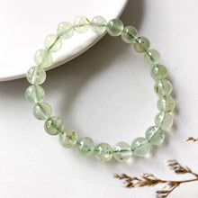 Load image into Gallery viewer, Prehnite 8mm Bracelet