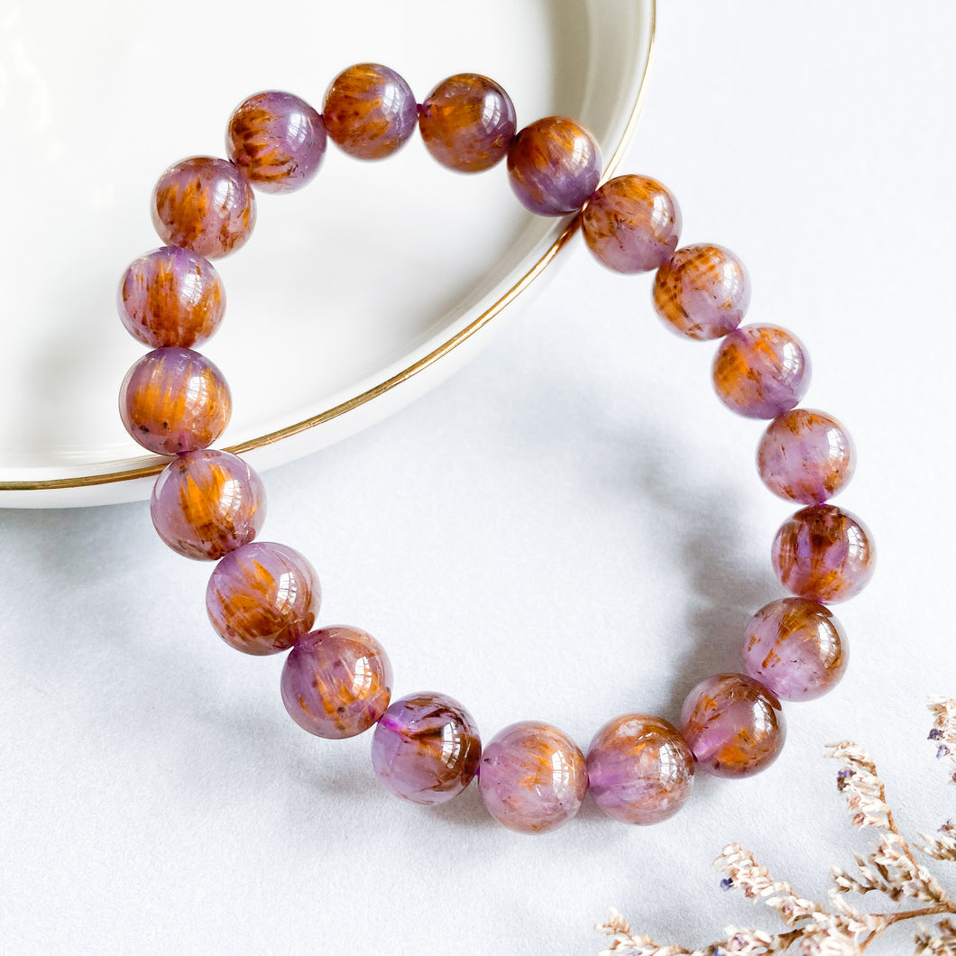Cacoxenite 10mm Bracelet
