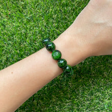 Load image into Gallery viewer, Dioptase 12mm Bracelet