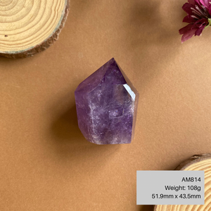 Gemmy Amethyst Point