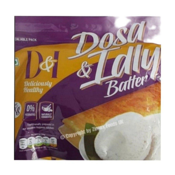 D&I Idli Dosa batter 1kg - Zingox Foods UK