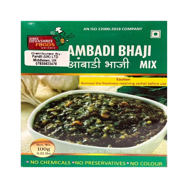 Ambadi Bhaji Mix 100g - Zingox Foods UK
