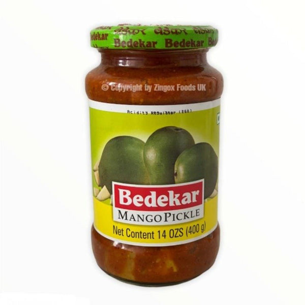 Bedekar Mango Pickle 400g - Zingox Foods UK
