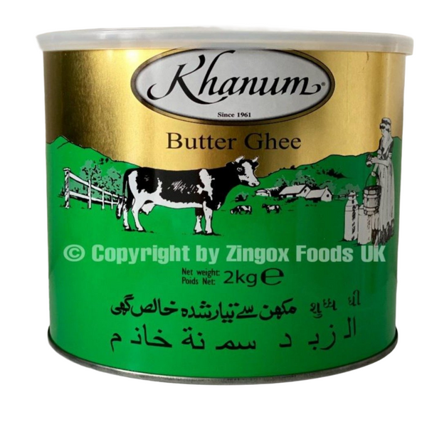 Butter Ghee 2kg - Zingox Foods UK
