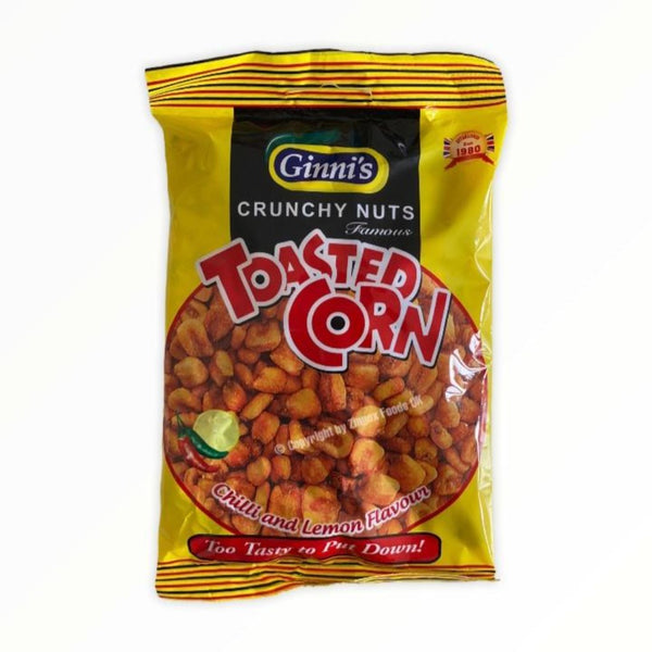 Ginni's Toasted Corn Chilli and Lemon 130g