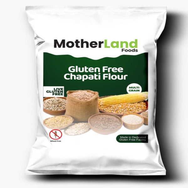 Mother Land - Gluten Free Chapati Flour 4kg - Zingox Foods UK