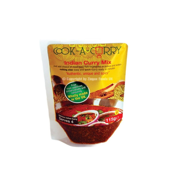 Indian Curry 115g - Zingox Foods UK