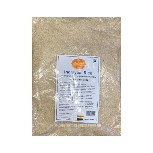 Indrayani Rice 5kg - Zingox Foods UK