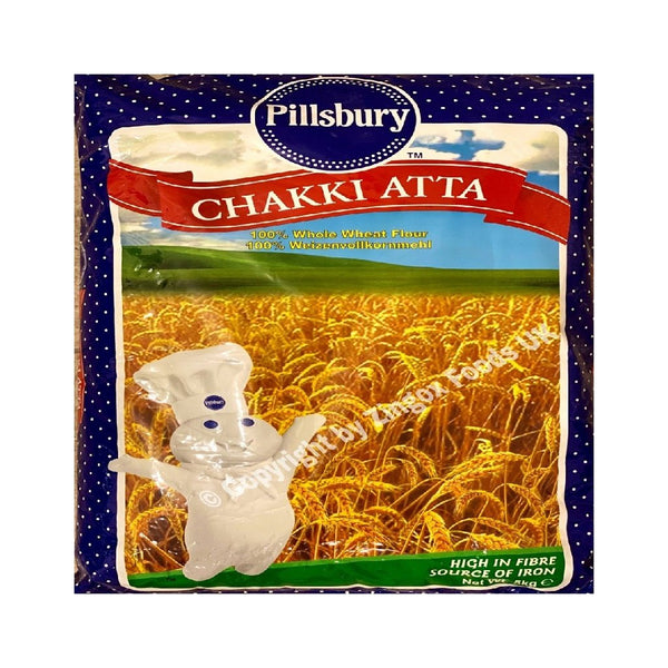 Pillsbury Atta 5kg - Zingox Foods UK