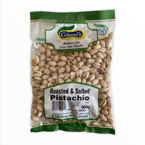 Ginni's Roasted and Salted Pistachio 600g