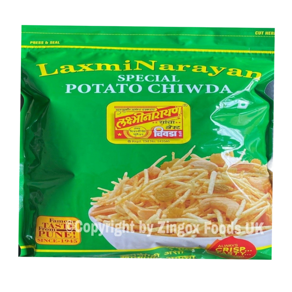 Lakshminarayan Potato Chivada 400g - Zingox Foods UK