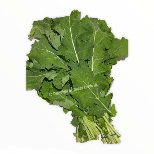 Saag/Mustard Leaves (2 Bunches) - Zingox Foods UK