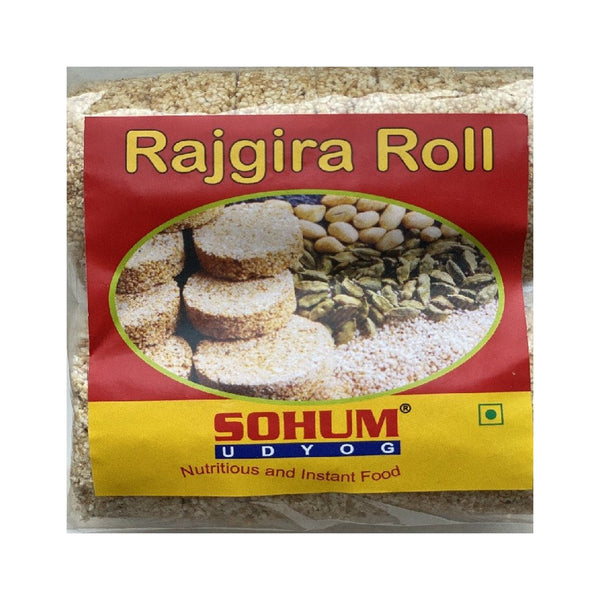 Sohum Rajgira Roll 200g - Zingox Foods UK