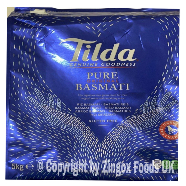 Tilda Basmati Rice 5kg - Zingox Foods UK