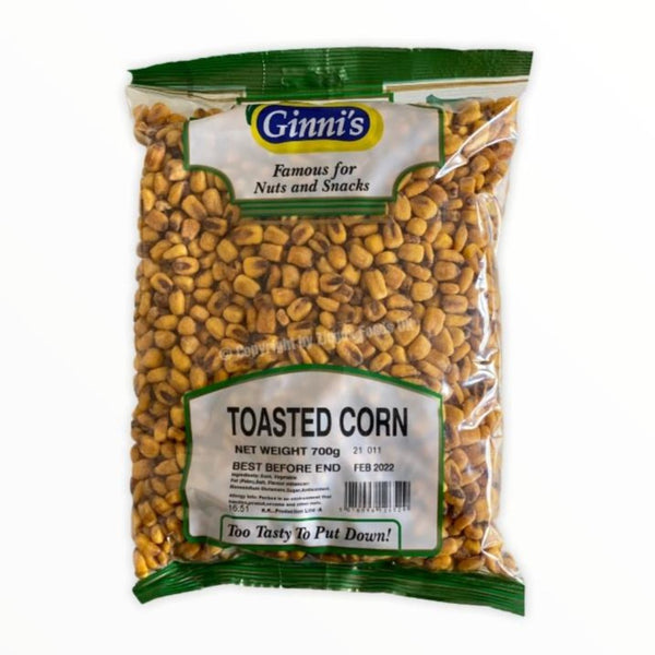 Ginni's Toasted Corn Natural 700g