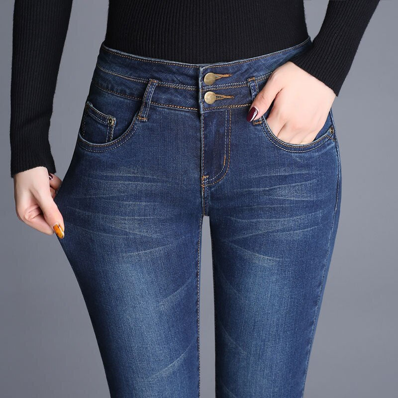Flared Casual Jeans