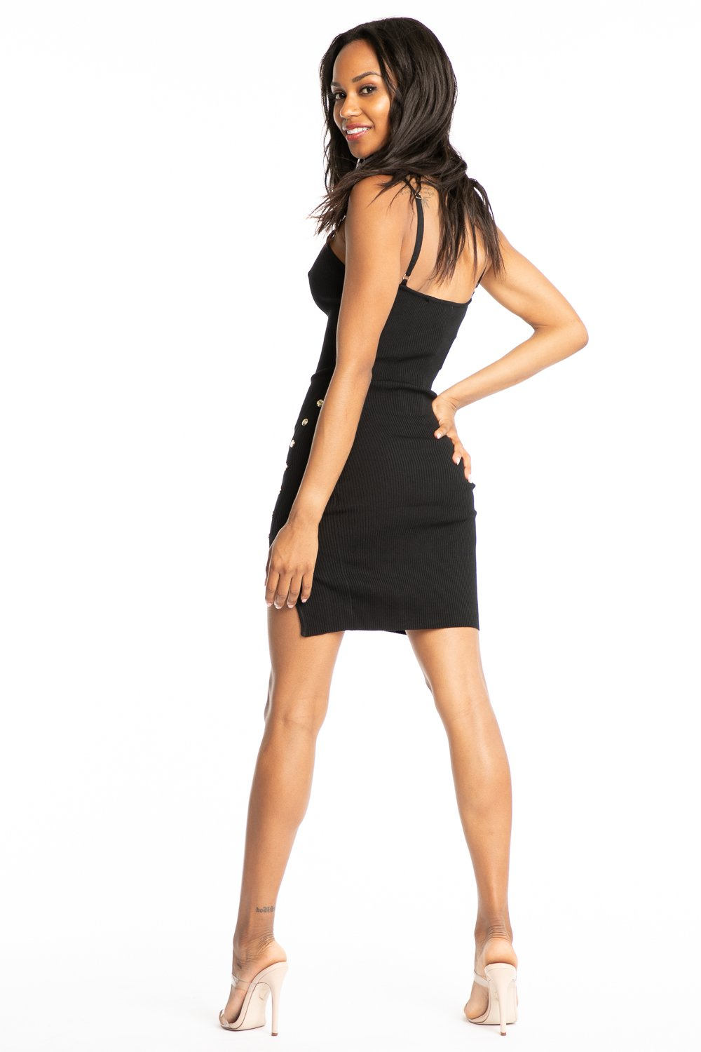 Jasmine Short Dress-I Too Fashion-This 2 That