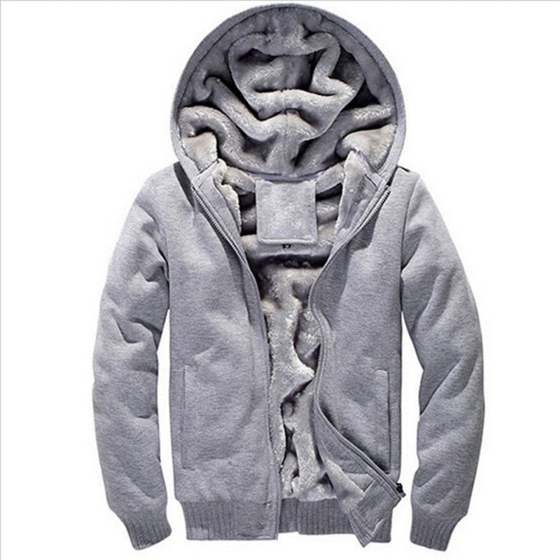 Womens Thick Warm Cotton Hoodie