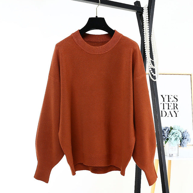 Winter Autumn Oversized Knitted Cashmere