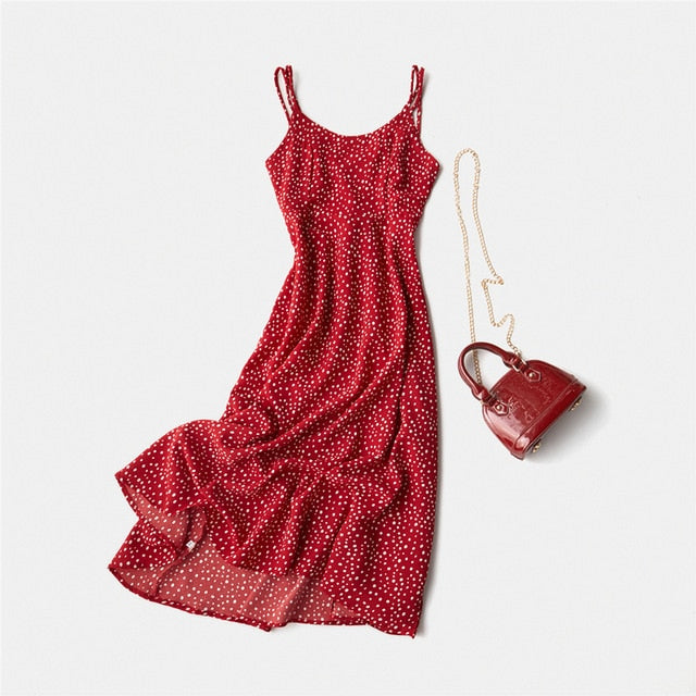 Holiday Dress Cross Spaghetti Strap-This 2 That-This 2 That