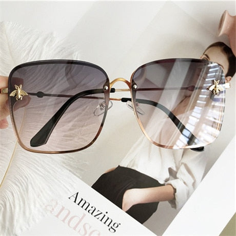 Oversize Square Sunglasses Women-This2That.com -This 2 That