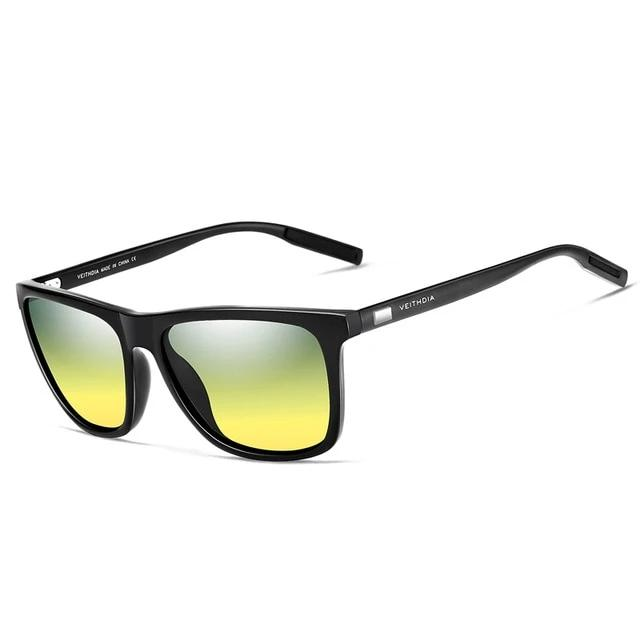 Retro Aluminum Sunglasses Polarized Lens
