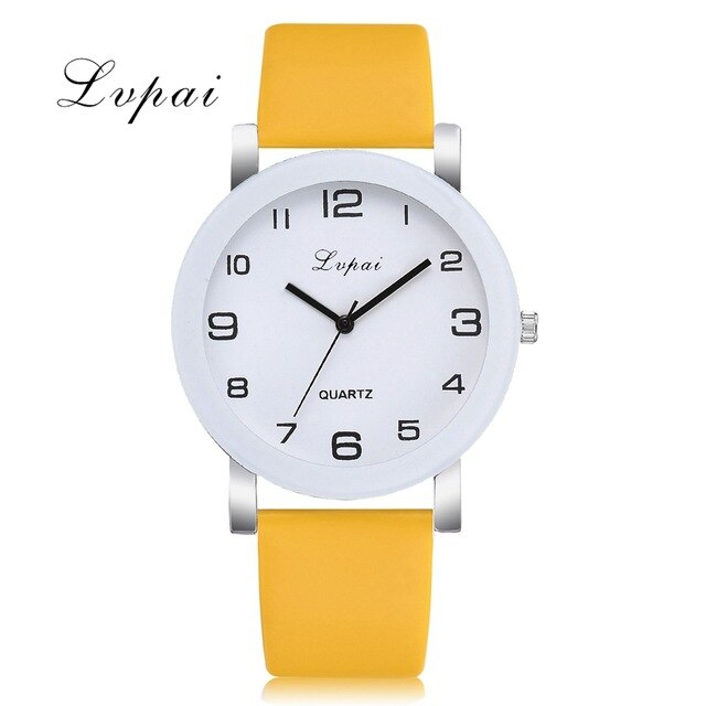 Lvpai Brand Quartz Watches For Women Luxury White Bracelet Watches Ladies Dress Creative Clock Watches 2018 New Relojes Mujer