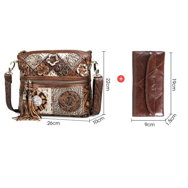 Women Bag Genuine Leather Floral-This 2 That-This 2 That
