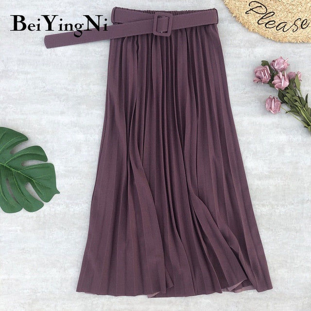 High Waist Women Skirt